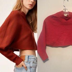 Wilfred free lolan sweater sz xs in aurora pink